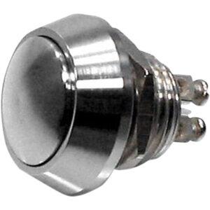 Botón Pulsador compacto M12 Acero inoxidable