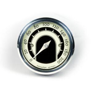 Cuentakilómetros Analógico MST 49mm Cromado