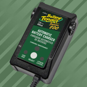 Cargador de Batería Junior 800 Seleccionable 12V