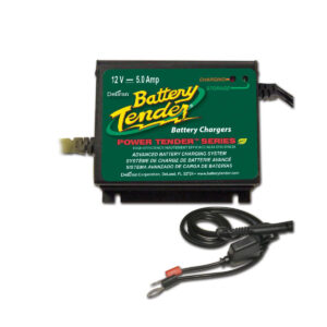 Cargador de Batería Power Tender 12V 5A Automatic Black