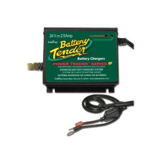 Cargador de Batería Power Tender 24V 2.5A Automatic Black