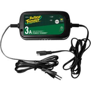 Cargador de Batería Power Tender 6V / 12V - 3A Negro