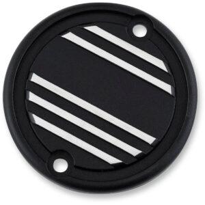 Embellecedor tapas de motor Triumph aluminio derecho negro natural