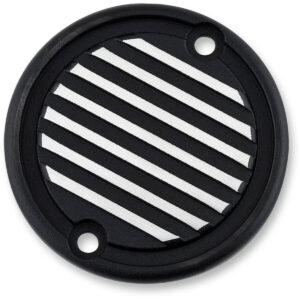 Embellecedor tapas de motor Triumph derecho negro natural