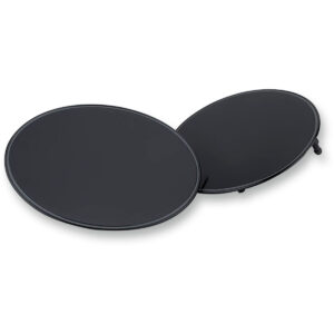 Panel portanúmero en aluminio negro